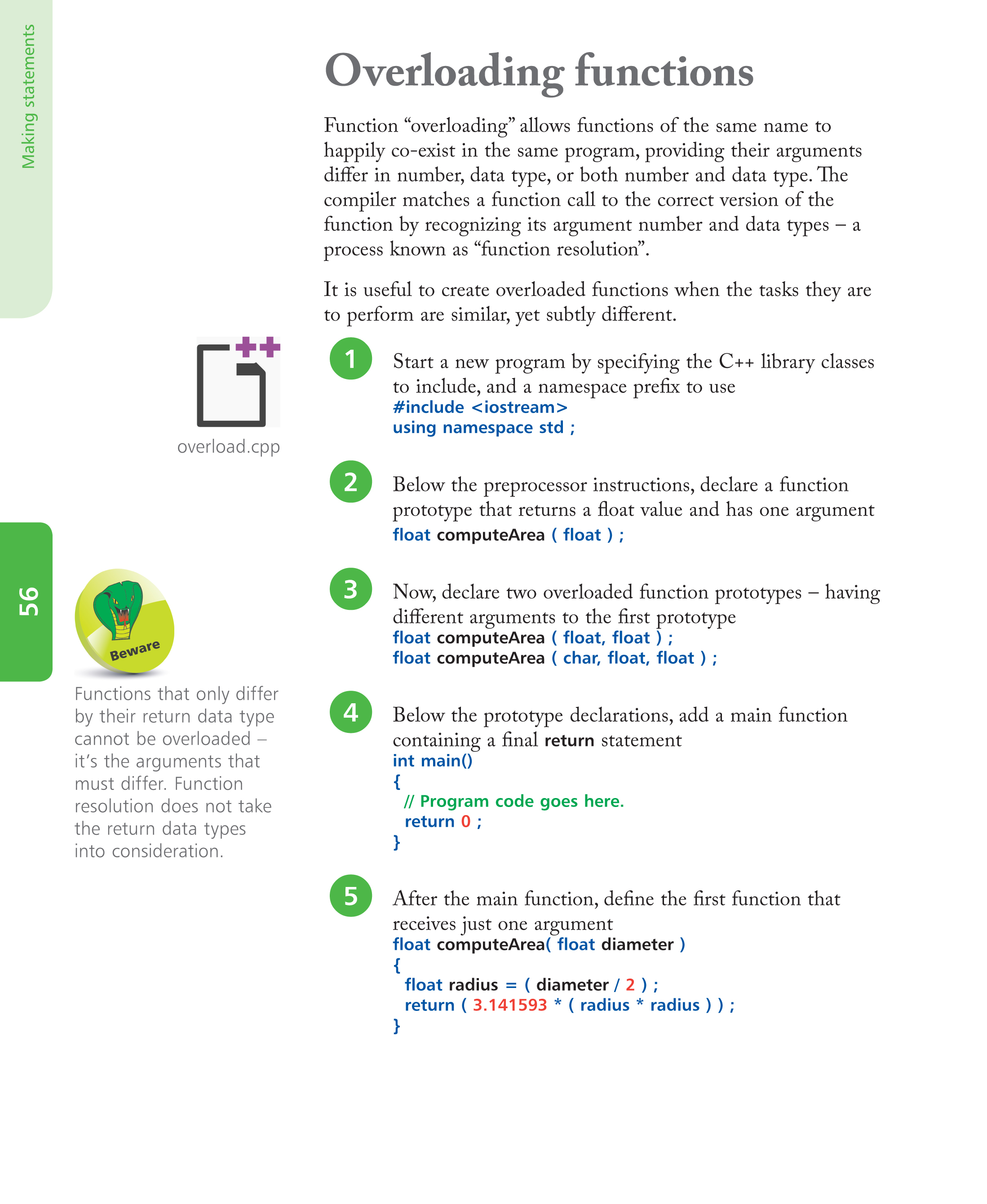 In easy steps c programming in easy steps 5th edition ebook pg56 fandeluxe Images