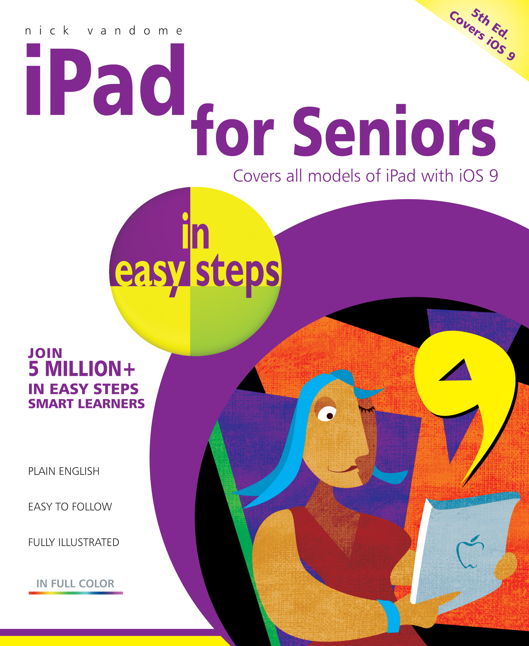 iPad for Seniors in easy steps, 5th Edition 9781840787061 PDF