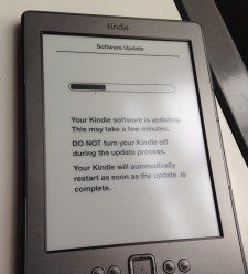Critical Kindle update