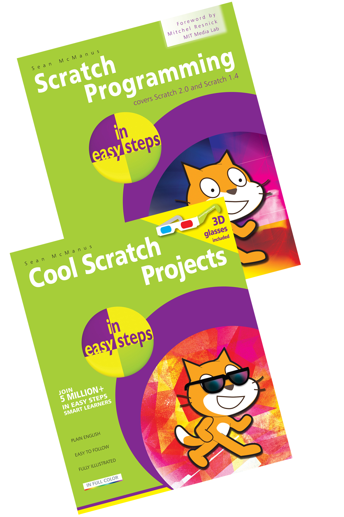 Scratch Programming in easy steps + Cool Scratch Projects in easy steps