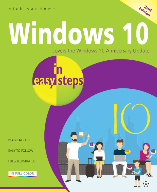 Windows 10 in easy steps, 2nd Edition
