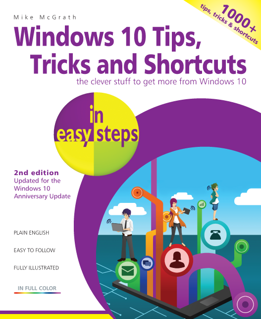 Windows 10 Tips, Tricks & Shortcuts in easy steps, 2nd ed ebook PDF 9781840787481