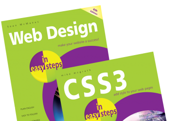 Brush up on your programming skills with In Easy Steps sets!