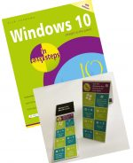 Windows 10 in easy steps, 4th edition plus FREE Windows bookmark