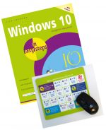Windows 10 in easy steps, 4th edition plus FREE Windows mouse mat