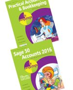 Practical Accounts & Bookkeeping in easy steps, and Sage 50 Accounts 2016 in easy steps – SPECIAL OFFER