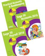 Practical Accounts and Bookkeeping in easy steps, Sage 50 Accounts 2016 in easy steps, and Sage 50 Payroll 2016 in easy steps – SPECIAL OFFER