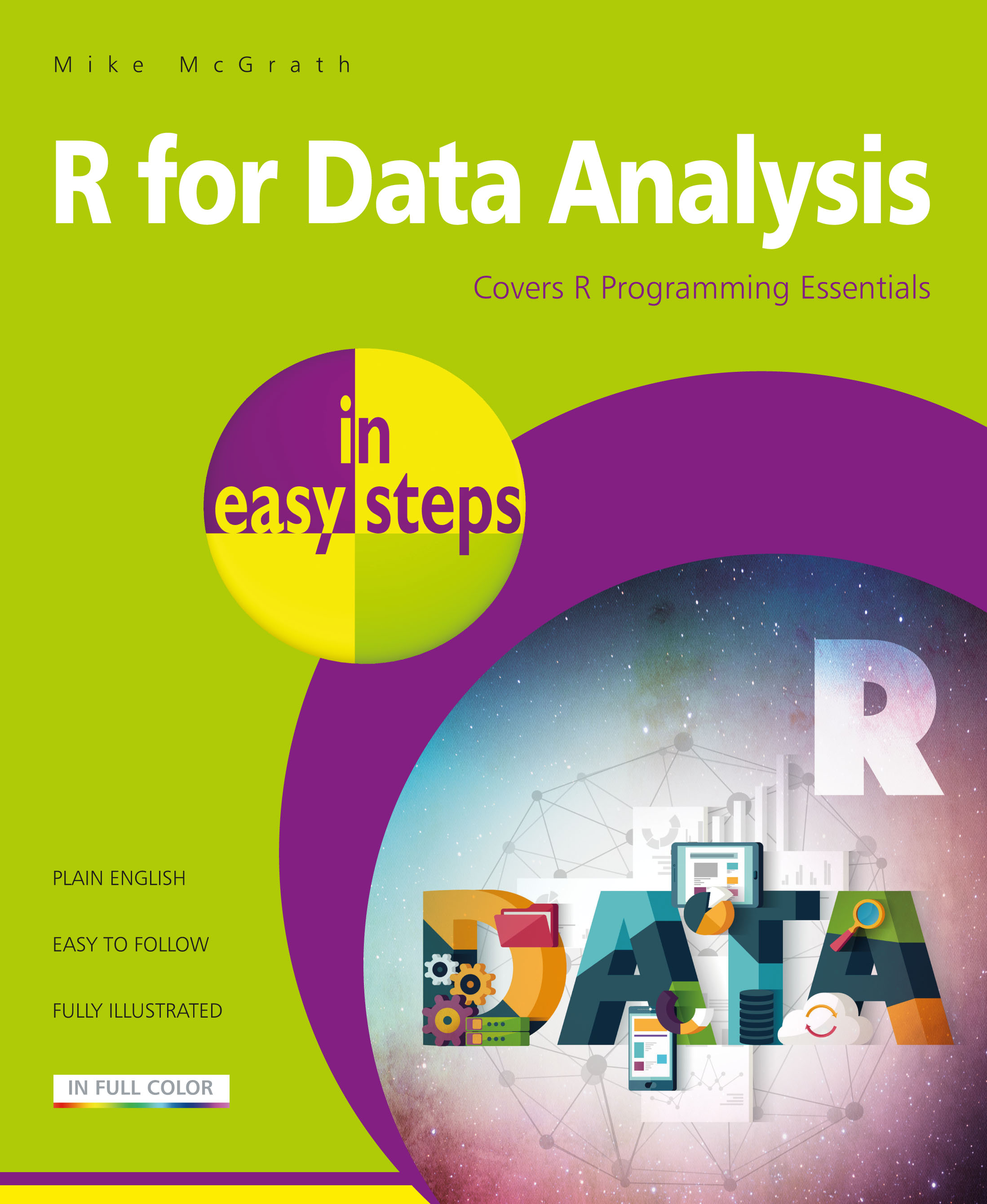 R for Data Analysis in easy steps 9781840787955