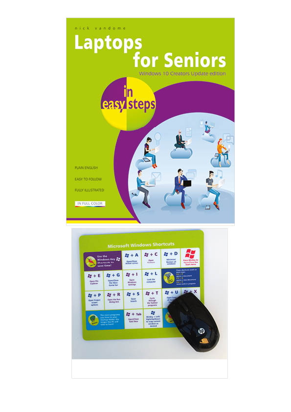 Laptops for Seniors In Easy Steps - Windows 10 edition 9781840787818