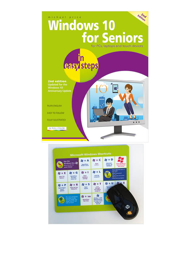 Windows 10 for Seniors in easy steps 2nd edition 9781840787528