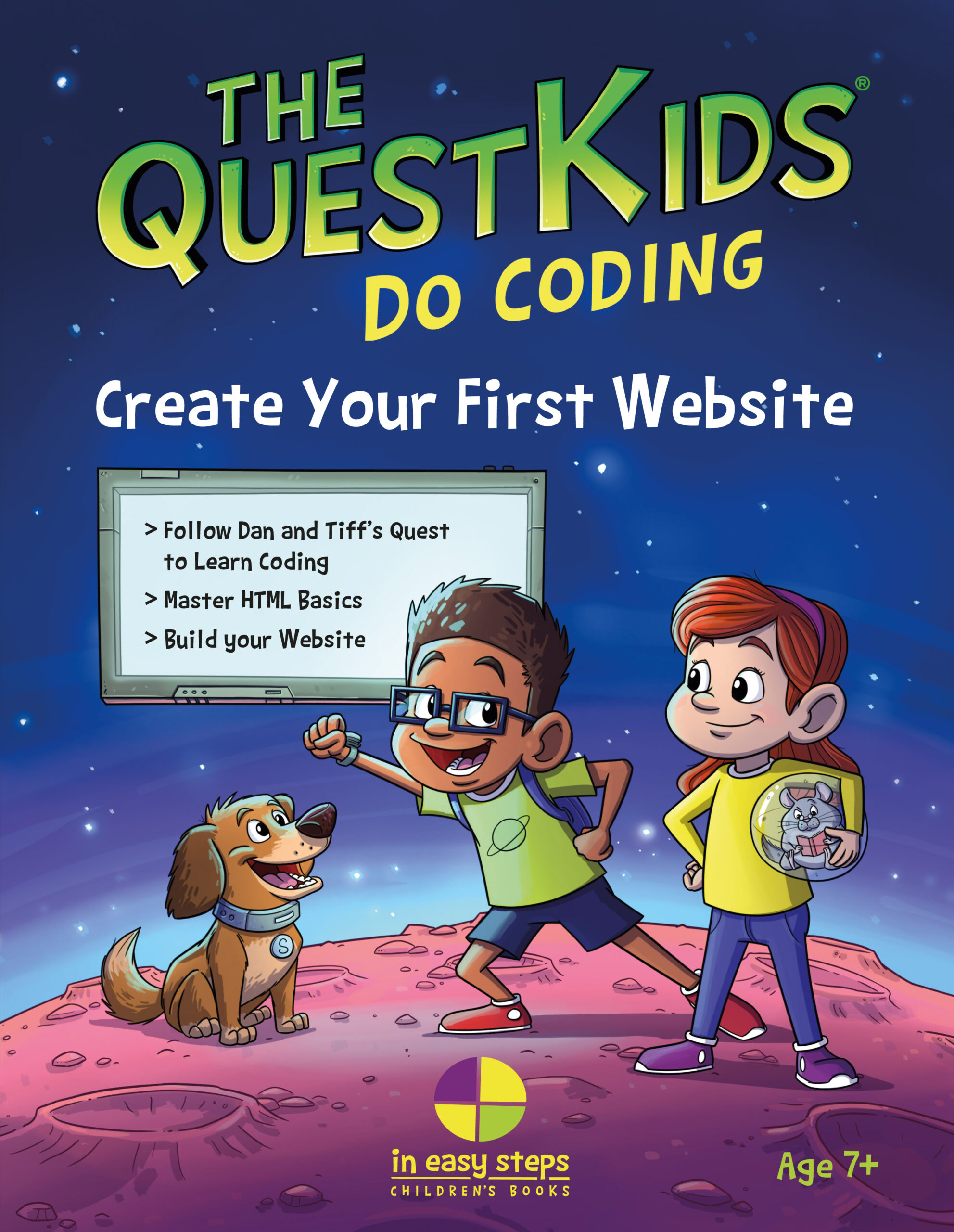 Create Your First Website in easy steps – The QuestKids Do Coding – UK English edition