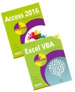 Access 2016 in easy steps & Excel VBA in easy steps, 2nd Edition – SPECIAL OFFER