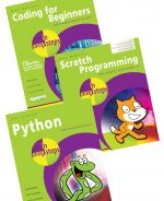 Coding for Beginners in easy steps, Python in easy steps, & Scratch Programming in easy steps – SPECIAL OFFER