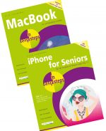 MacBook in easy steps, 6th edition and iPhone for Seniors in easy steps, 4th edition – SPECIAL OFFER