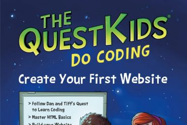 New release: Create Your First Website in easy steps – The QuestKids do Coding
