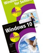 Windows 10 for Seniors in easy steps 3rd edition and Windows 10 in easy steps, Special Edition, 2nd edition – SPECIAL OFFER