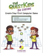 Create Your First Computer Game in easy steps – The QuestKids Do Coding