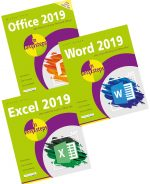 Office 2019 in easy steps, Excel 2019 in easy steps and Word 2019 in easy steps – SPECIAL OFFER