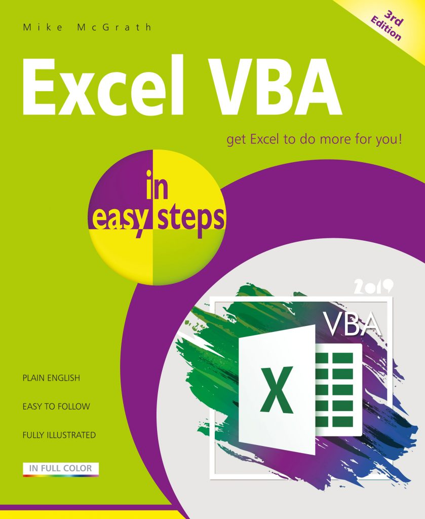 In Easy Steps Excel VBA in easy steps, 3rd Edition - In Easy