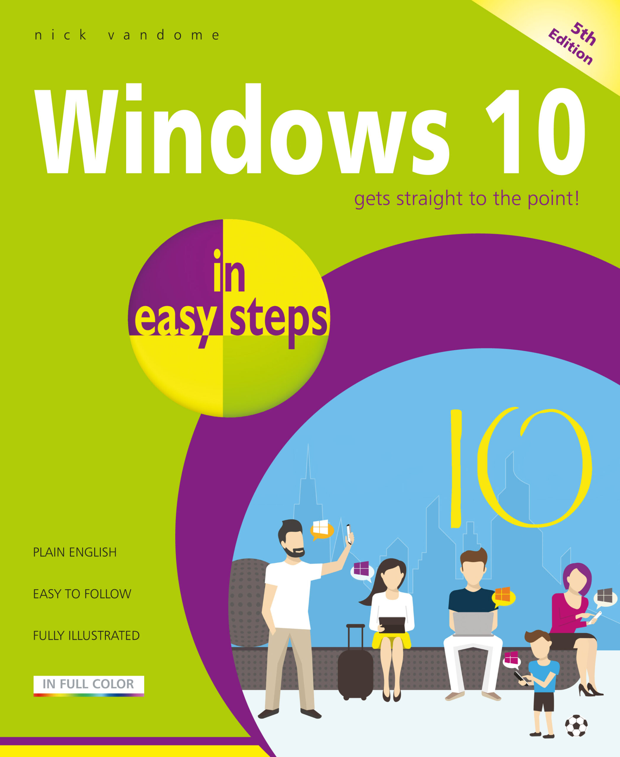 Windows 10 in easy steps, 5th edition