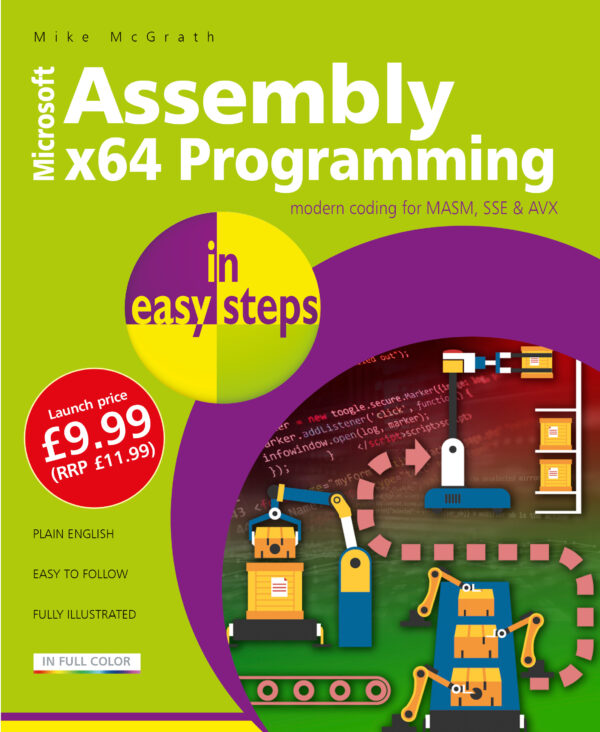 Assembly x64 Programming in easy steps 9781840789522