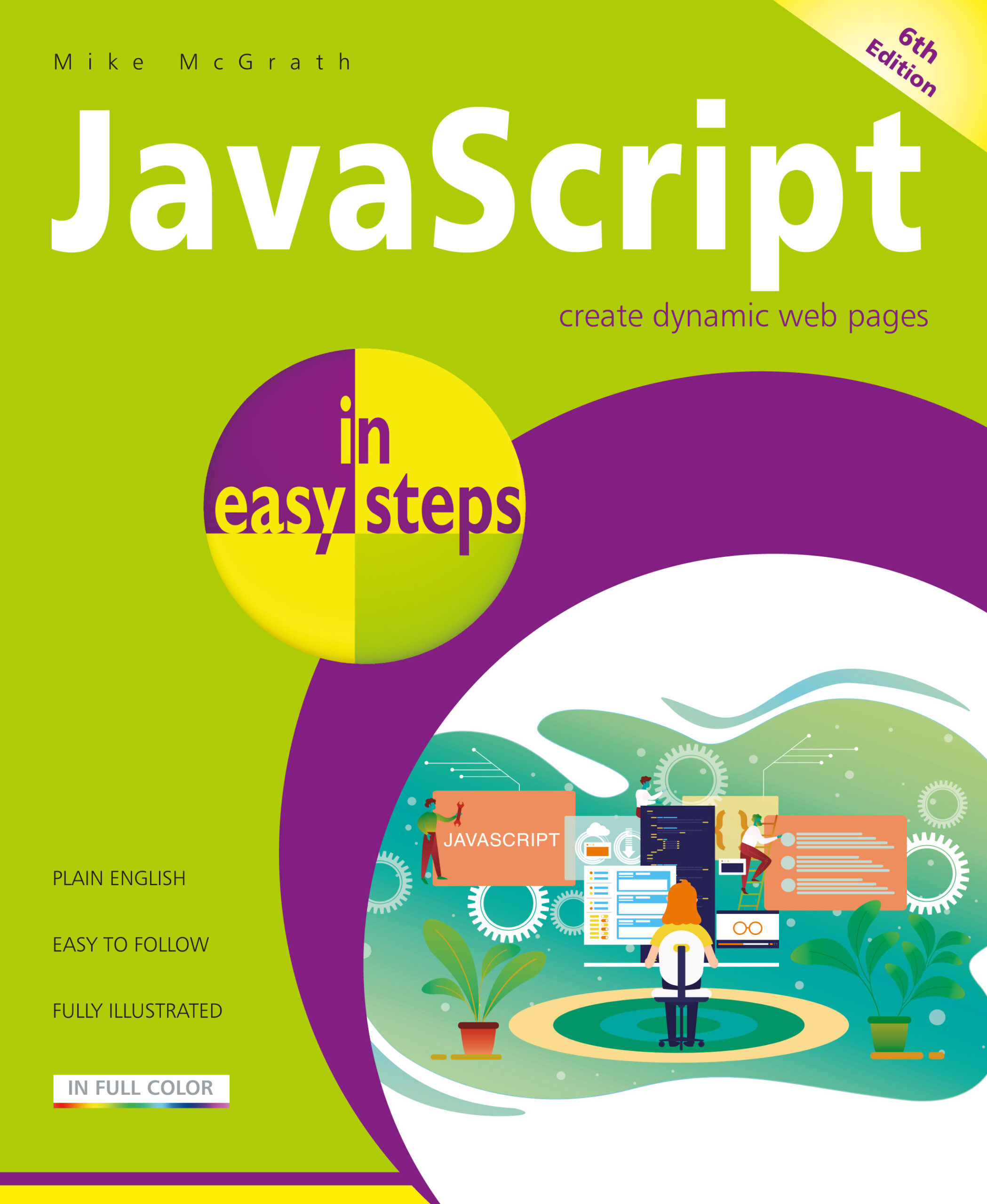 JavaScript in easy steps, 6th edition