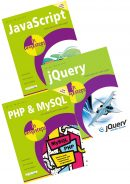 JavaScript in easy steps, jQuery in easy steps, and PHP & MySQL in easy steps – SPECIAL OFFER
