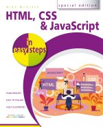 HTML, CSS & JavaScript in easy steps ebook (PDF)