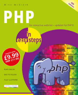PHP in easy steps, 4th edition – updated for PHP 8