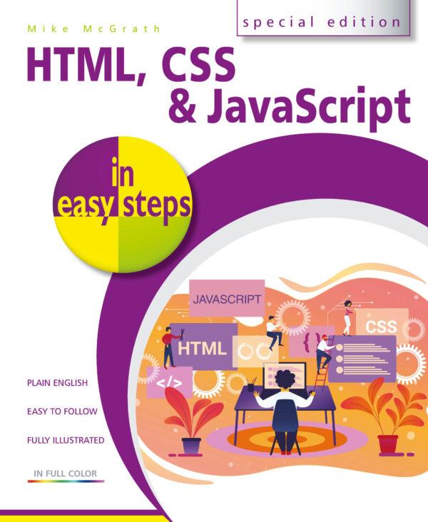 HTML, CSS & JavaScript in easy steps 9781840788785