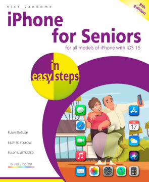 9781840789454 iPhone for Seniors in easy steps, 8th edition ebook pdf